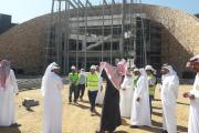 اعضاء لجنة متابعة المشاريع بمجلس المنطقة يطلعون على متحف نجران الإقليمي