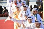 أنشطة ثقافية منوعة لزوار الجنادرية في جناح الإمارات