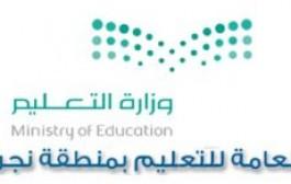 تعليم نجران يدعو جميع الطلاب بالمراحل الدراسية للتسجيل في مسابقة