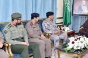 نائب أمير نجران يلتقي القيادات الأمنية بالمنطقة
