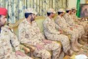 أمير نجران يستقبل قائد لواء الأمير تركي بن عبدالعزيز الأول الآلي بالحرس الوطني المكلف