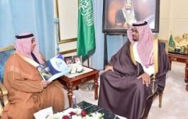 الأمير تركي بن هذلول يلتقي مدير جامعة نجران