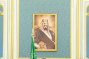 خادم الحرمين الشريفين يستقبل أصحاب السمو الأمراء ومفتي عام المملكة وأصحاب الفضيلة العلماء والمعالي وجمعاً من المواطنين