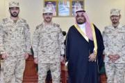 نائب أمير نجران يستقبل قائد لواء الأمير تركي بن عبدالعزيز الأول الآلي بالحرس الوطني المكلف