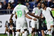 الأخضر السعودي بثنائية في شباك لبنان يطير إلى الدور ال 16 من بطولة كأس آسيا 2019.