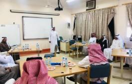 مشرف التوجيه والإرشاد بمكتب التعليم بالجربة يلتقي بالمرشدين الطلابيين