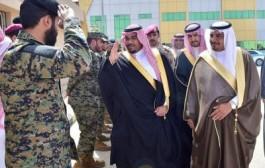 الأمير تركي بن هذلول يتفقد قوة الأفواج الأمنية بمنطقة نجران