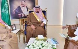 أمير نجران ونائبه يستعرضان مشاريع درء أخطار السيول