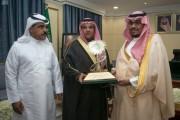 نائب أمير نجران يلتقي رئيس وأعضاء مجلس إدارة نادي الأخدود