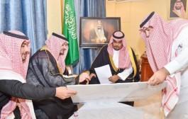 الأمير تركي بن هذلول يطلع على مشروع مطار نجران المؤقت