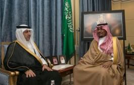 نائب أمير نجران يلتقي مدير شركة الكهرباء بالمنطقة