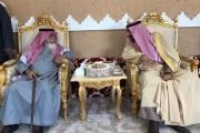 أمير نجران يزور شيخ شمل قبيلة آل فهاد