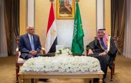 خادم الحرمين الشريفين يستقبل رئيس مجلس النواب بجمهورية مصر العربية