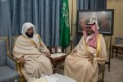 نائب أمير نجران يلتقي رئيس المحكمة العامة