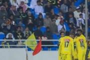 التعاون يسحق مضيفه النصر بثلاثية مقابل هدف وحيد