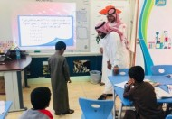 مدير عام تعليم نجران يزور مدرسة هداده الابتدائية