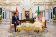 خادم الحرمين الشريفين يستقبل رئيس وزراء جمهورية قرغيزستان