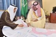 أمير نجران بالإنابة يطلع على مشاريع وزارة النقل بالمنطقة