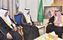 أمير نجران يستقبل رئيس