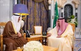 خادم الحرمين الشريفين يستقبل رئيس مجلس الأمة بدولة الكويت
