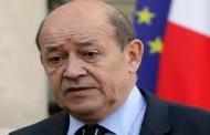 وزير خارجية فرنسا: ماكرون يريد الاجتماع مع حفتر للحث على وقف إطلاق النار