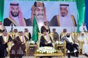 أمير نجران ينقل تهاني القيادة للأهالي بمناسبة شهر رمضان المبارك