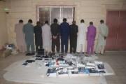 المتحدث الإعلامي لشرطة نجران : القبض على تشكيل عصابي مكون من 10 وافدين مارسوا النصب والإحتيال عن طريق رسائل الجوال