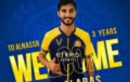 تنافست ثلاث فرق عليه : صالح آل عباس هداف دوري الأولى  رسمياً في صفوف نادي النصر الموسم القادم