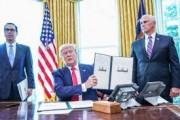 الرئيس الأمريكي يوقع أوامر تنفيذية بفرض عقوبات جديدة وصارمة على إيران