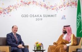 سمو ولي العهد يلتقي رئيس مجموعة البنك الدولي