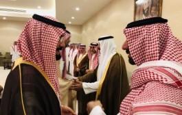 سمو أمير نجران يستقبل المعزين في وفاة الأمير محمد بن متعب
