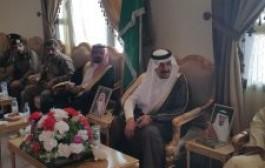 محافظ خباش يستقبل المهنئين بالعيد ويعايد المنومين بالمستشفى