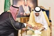 سمو الأمير جلوي بن عبدالعزيز يستعرض استعدادات نادي نجران للموسم المقبل