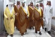 سمو أمير نجران يطمئن على صحة الشيخ المكرمي