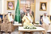 سمو أمير منطقة نجران يستقبل جمعًا من أسرة آل نصيب