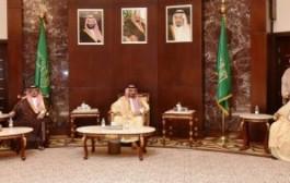 سمو أمير نجران يستقبل المعزين في وفاة الأميرة الجوهرة بنت عبدالعزيز بن مساعد