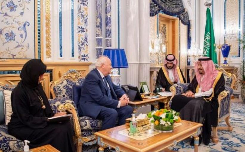 خادم الحرمين الشريفين يستقبل المفوض السامي الجديد لمنتدى الأمم المتحدة لتحالف الحضارات