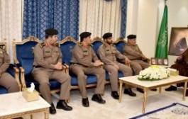 سمو أمير نجران يستقبل نائب مدير شرطة المنطقة