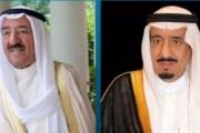خادم الحرمين الشريفين يجري اتصالاً هاتفيًا بأمير الكويت