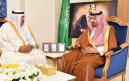 سمو أمير نجران يلتقي مدير فرع الهيئة العامة للسياحة والتراث الوطني بالمنطقة