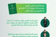 إدارات الجوازات تبدأ في تنفيذ نظام وثائق السفر المُعدل