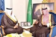 سمو الأمير جلوي بن عبدالعزيز يستقبل أمين منطقة نجران