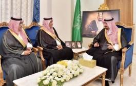 سمو أمير نجران يستقبل رؤساء نجران والأخدود