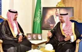 سمو أمير #نجران يستقبل مدير فرع مركز الملك عبدالعزيز للحوار الوطني بالمنطقة