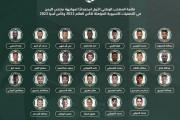 إعلان قائمة المنتخب السعودي لمعسكر الدمام استعداداً لتصفيات كأسي العالم وآسيا