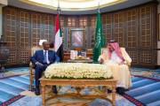 خادم الحرمين الشريفين يعقد جلسة مباحثات رسمية مع فخامة رئيس مجلس السيادة السوداني ودولة رئيس مجلس الوزراء
