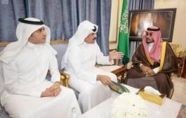 سمو نائب أمير نجران يلتقي رئيس جمعية رعاية مرضى السرطان بالمنطقة