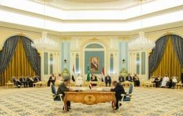 سمو ولي العهد يرعى التوقيع على وثيقة اتفاق الرياض بين الحكومة الشرعية اليمنية والمجلس الانتقالي الجنوبي