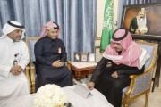 سمو الأمير تركي بن هذلول يلتقي مدير الشؤون الصحية بنجران بالنيابة
