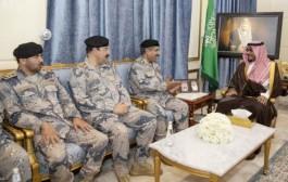 سمو نائب أمير منطقة نجران يستقبل مدير عام حرس الحدود